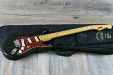 Super Rare Vintage Kelly Carmine Street Guitars Strat 1980s Black