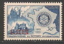 Algeria #264 (A251) VF MINT LH OG - 1955 30fr Rotary International, 50th Anniv.