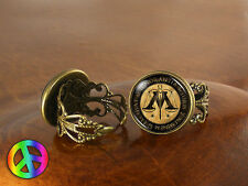 Harry Potter Ministry Magic Adjustable Ring Rings Jewelry Jewellery Women Gift