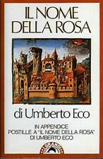 Il Nome della Rosa di Umbero Eco (Bompiani, 1989, Copertina Flessibile, Super Pocket Edizione)
