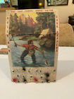 very old Fishing Flys with display card