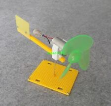 1pcs The miniature wind turbine can rotate with the wind