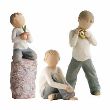 Willow Tree Set of 3 Brothers Figurine Gift set    23604