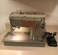SINGER MODEL 328K SEWING MACHINE, MADE IN GREAT BRITAIN, WORKS