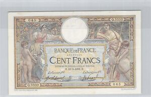 100 Francs Merson 18-3-1916 Q.3332 n° 83290045 Fayette 23(08)