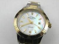 Rotary Ladies Diamond Two Tone Bracelet Watch LB00134/07
