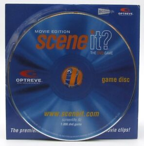 Scene It Movie Edition Replacement DVD Disc Game Part Piece