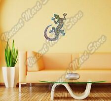 "Gecko Geko Lizard Abstract Colorful Wall Sticker Room Interior Decor 18""X25"""