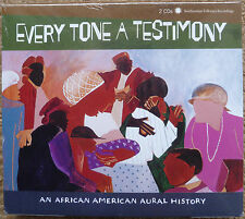 Every Tone a Testimony 2-CD Set New & Sealed African American Oral History