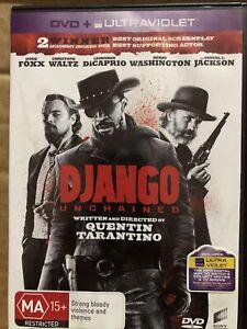 Django Unchained DVD Jamie Fox Leonardo DiCaprio Quentin Tarantino Region 4