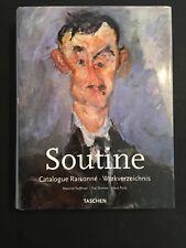 [10313-B45] Art - Taschen - Soutine - Catalogue Raisonné - Tuchman...