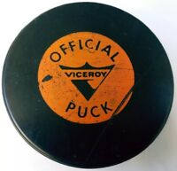 VINTAGE VICEROY made in CANADA HOCKEY OFFICIAL GAME PUCK