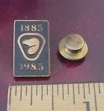 Vintage 1885 - 1985 Heritage Conservation 100 Years Celebration Metal Lapel Pin