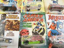Figuras de acción de superhéroes de cómics vehículos