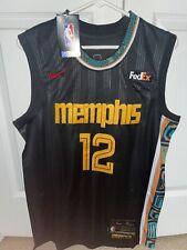 NWT Men's Memphis Grizzlies Ja Morant Black City Edition Jersey