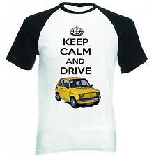 MALUCH POLACCO FIAT 126 P Keep Calm-Nuovo T-shirt Cotone-Tutte le taglie in magazzino