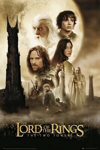 """Lord Of The Rings - The Two Towers - Movie Poster (Regular) (Size: 24"""" X 36"""")"""