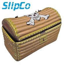 Inflatable TREASURE CHEST Pirate Beach Pool Holiday Fancy Dress Party UK SELLER