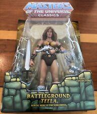 2010 MOTU Masters of the Universe Classics Battleground Teela MIB NEW