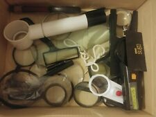 magnifying glasses and magnifiers, various kinds mixed lot