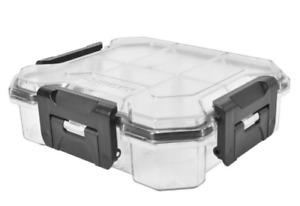 Husky 6 inch 6-Compartment Waterproof Storage Bin Small Parts Organizer
