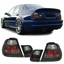 SMOKED REAR TAIL LIGHTS LAMPS BMW E46 3 SERIES PREFACELIFT SALOON 98-01