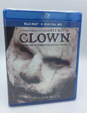 Clown (Blu-ray+Digital HD, 2016) NEW    Eli Roth Horror