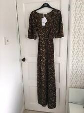 Gorgeous Floral Pattern Maxi Dress Medium BNWT Boho Style