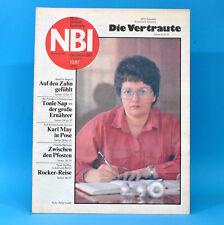 DDR NBI 10 1987 Peter Maffay Bad Langensalza Handball Heinz Rühmann Karl May D