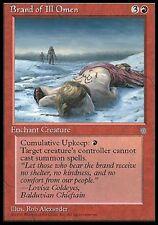 MTG Magic - Ice Age - Brand of ill Omen  -  Rare VO
