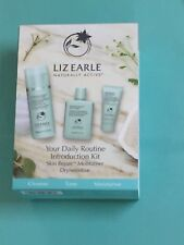 Liz Earle Your Daily Routine introduction Kit Cleanse,cloth,tonic,dry/sensitive
