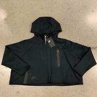 NWT Nike BV3396-010 Women's Sportswear Tech Fleece Cape Hoodie Loose Fit Black S