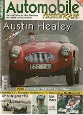 AUTOMOBILE HISTORIQUE 26 AUSTIN HEALEY 100 S GP DE BELGIQUE 1953 MARTINI F1