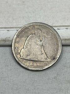1875-S US Silver Twenty 20 Cent Piece #125