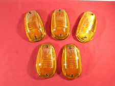 DODGE RAM 1500 2500 3500 Set of 5 Amber Clearance Running Lights NEW OEM MOPAR