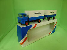 LION CAR  DAF TRUCK + TRAILER RARE SELTEN VERY GOOD CONDITION