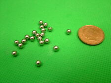 Ball bearings 4.0mm qty.50 Stainless steel grade 420 Ammo/Bikes/Crafts/Jewellery