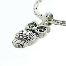 USA Seller Wise Owl Pendant Sterling Silver 925 Plain Best Deal Jewelry Gift