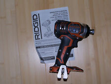 New Ridgid 18 Volt X4 Lithium-ion cordless impact R86034 Bare tool