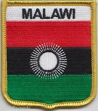 Malawi 2010 to 2012 Flag Shield Embroidered Patch Badge