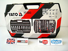 Yato Ratchet Socket Set 173 pcs 1/2 1/4 3/8 YT3893 Tools Tool Toolbox Driver New