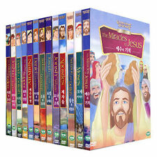 The Bible ANIMATION 13 DVDs Collection SET DVD - William B. Kowalchuk