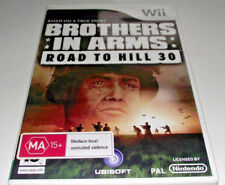 Brothers in Arms Road to Hill 30 Nintendo Wii PAL *Complete* Wii U Compatible