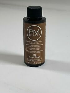 Paul Mitchell Shines Demi-Permanent Translucent Hydrating Color Brown Sugar 2oz