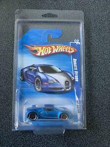 Hot Wheels Bugatti Veyron Hot Auction 2010 Satin Blue