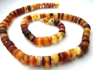 Natural Raw Baltic Amber Necklace For Men 51 cm(~20 inch)