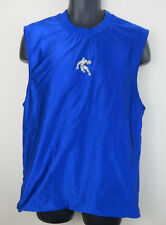 AND1 Reversible Basketball Athletics Vest Retro Blue Sports Jersey Mens Medium