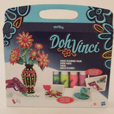Play-Doh DohVinci BLUMEN VASE 3D Design Deko Knete Bastelset B2834 Hasbro