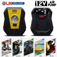 Heavy Duty Electric Car Van Tyre Inflatable Air Pump Tire Pressure Guage Tool UK