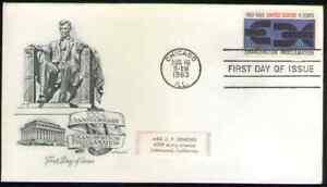US. 1233. 5c. Emancipation Proclamation Issue. Artmaster FDC. 1963
